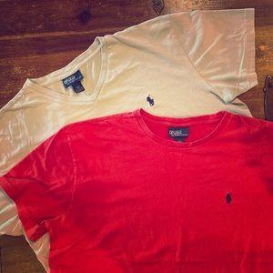 Polo Ralph Lauren men's t shirts large